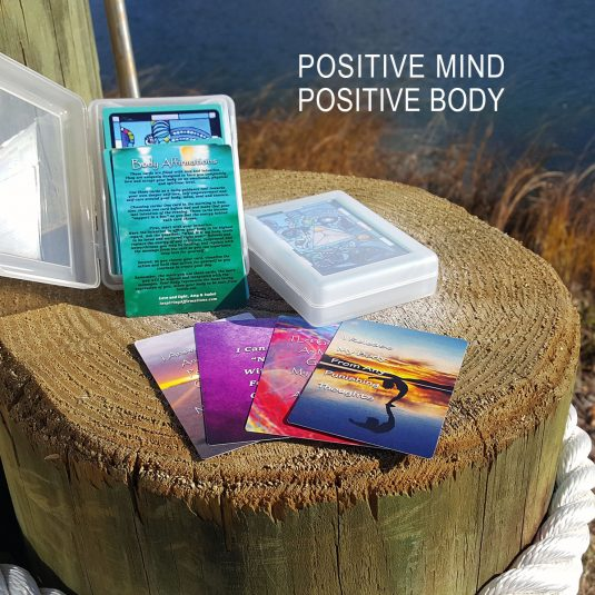 Positive Body Affirmation Cards
